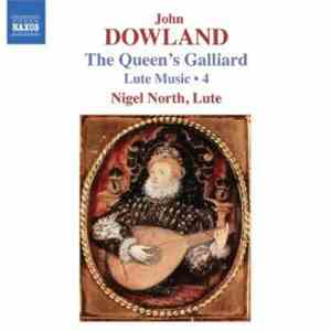 John Dowland, Nigel North - Lute Music ● 4 - The Queen's Galliard download free